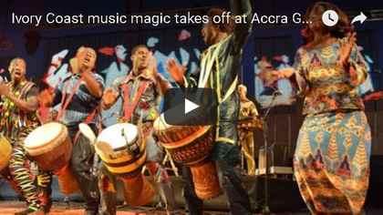 Ivory Coast Constant Boti drumming solo