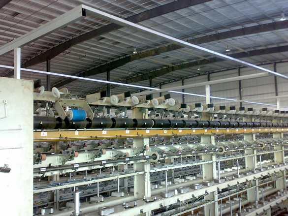 COVERING YARN MACHINES MILL SET UP, THAILAND, HEINZ RAINER, ACCRA, GHANA
